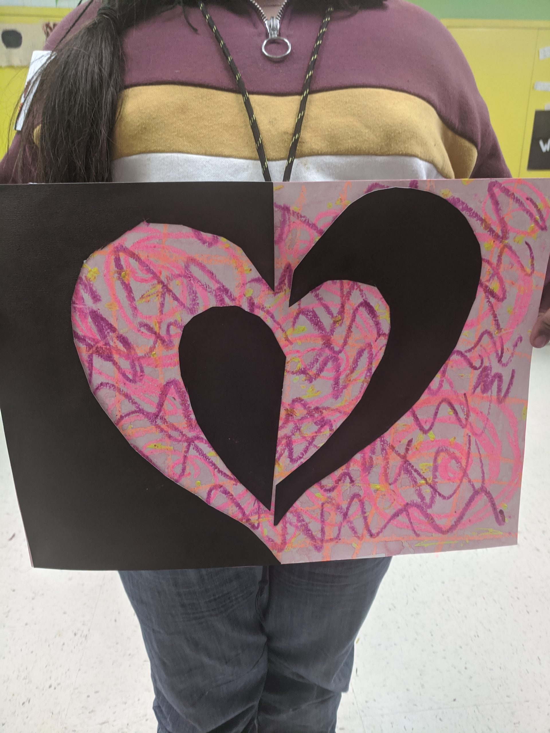 Donate to Scribble Me Silly - photo of artwork - a heart